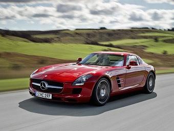 Объявлены российские цены на суперкар Mercedes-Benz SLS AMG