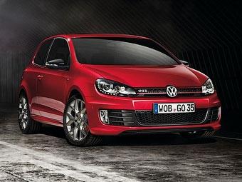 Компания VW отметила 35-летие Golf GTI специальной версией