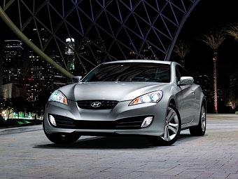 Купе Hyundai Genesis получило в России версию с задним дифференциалом