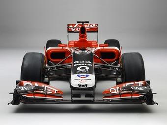 Российская команда Формулы-1 представила свой новый болид