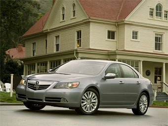 В США представили обновленный седан Acura RL
