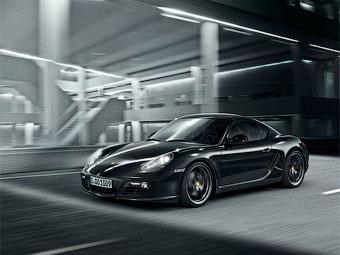 Porsche Cayman S перекрасили в черный цвет и сделали мощнее