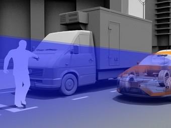 Автомобили научатся самостоятельно тормозить перед пешеходами
