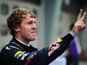 Себастьян Феттель выиграл Гран-при Испании