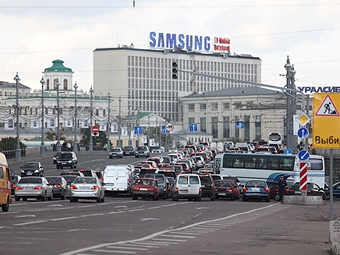 """Машинам без """"Евро-4"""" запретят въезд в центр Москвы"""