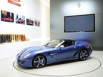 Компания Ferrari построила для коллекционера уникальный суперкар