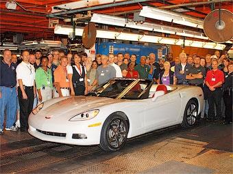 Концерн GM начал готовиться к выпуску нового Chevrolet Corvette
