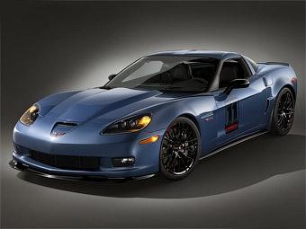 Компания Chevrolet модернизировала суперкар Corvette Z06