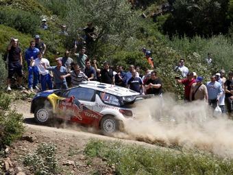 Себастьен Леб возглавил Ралли Сардинии после первого дня гонки