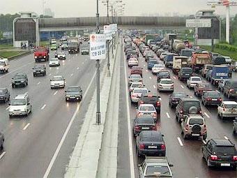 В Москве расширят кольцевую автодорогу