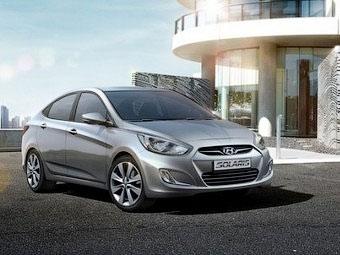 Компания Hyundai добавила новые опции седану Solaris