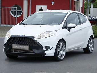 """""""Заряженный"""" хэтчбек Ford Fiesta получит """"нос"""" от Focus ST"""