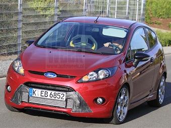 На Нюрбургринге начались испытания хэтчбека Ford Fiesta ST