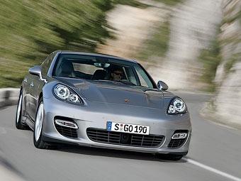 Porsche готовит удлиненную версию хэтчбека Panamera