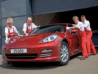 В Лейпциге собран 25-тысячный хэтчбек Porsche Panamera