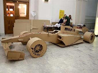 Московские школьники построили копию болида Формулы-1