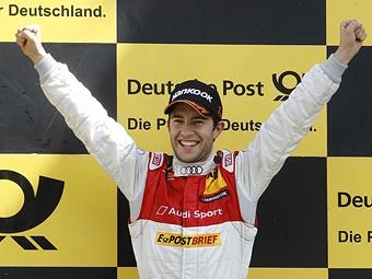 Майк Роккенфеллер одержал дебютную победу в DTM