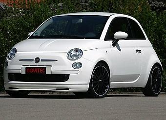 Ателье Novitec занялось доработкой Fiat 500
