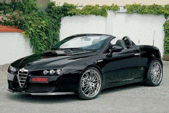 Ателье Novitec подготовило спорт-пакет для Alfa Romeo Spider