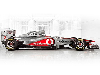 Команда McLaren представила болид с радикальной аэродинамикой