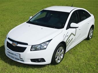 Chevrolet изучит востребованность электрокаров с помощью Cruze