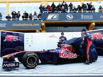 Команда Toro Rosso представила новый болид собственной конструкции