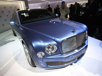 Компания Bentley прекратила прием заказов на седан Mulsanne