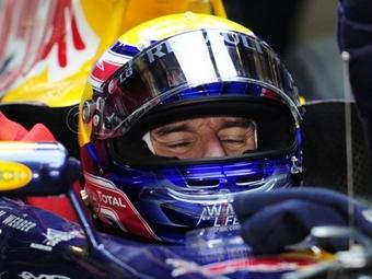 Марк Уэббер заканчивал сезон Формулы-1 со сломанным плечом
