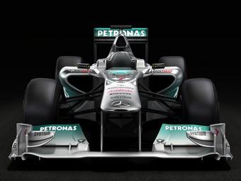 Команда Mercedes провела презентацию нового болида Формулы-1