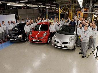 """Nissan завершил на британском заводе производство старой """"Микры"""""""