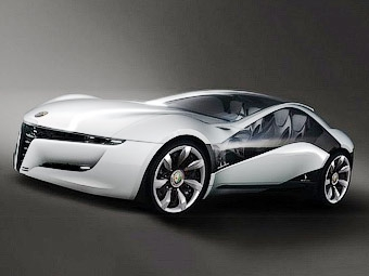 Ателье Bertone рассекретило прототип нового купе Alfa Romeo