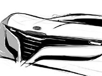 Ателье Bertone показало прототип нового купе Alfa Romeo