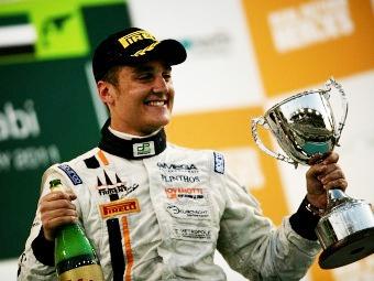 Колетти выиграл вторую гонку GP2Asia в Абу-Даби