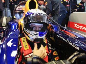 На тестах Формулы-1 Феттель обогнал преследователей на секунду