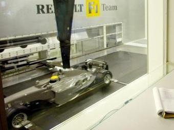 Команда Renault F1 усовершенствует аэродинамическую трубу