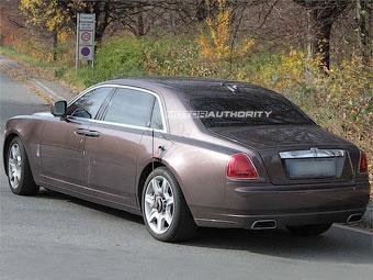 Rolls-Royce готовит удлиненную версию седана Ghost
