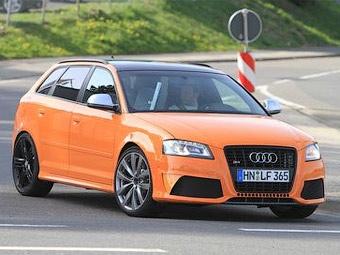 На Нюрбургринге начались испытания самой мощной версии Audi A3