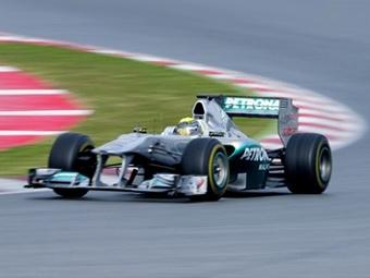 Нико Росберг установил лучшее время на тестах Формулы-1 в Барселоне