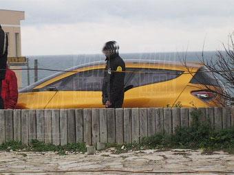 Появились фотографии неизвестного концепт-кара Renault