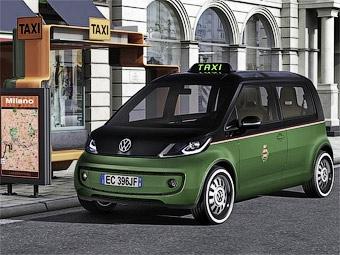 Концерн VW представил в Ганновере электрическое такси