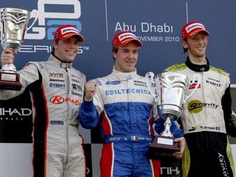 Давиде Вальсекки выиграл первую гонку GP2 за два года