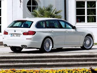 Ателье Alpina привезет в Женеву 507-сильный универсал BMW 5-Series