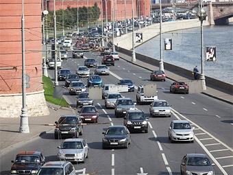 Российский автопарк за год увеличился на миллион машин