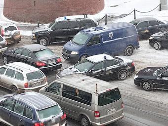 Автопарк Москвы достиг 3,8 миллиона автомобилей