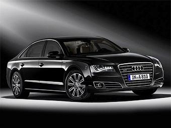 Представлен бронированный седан Audi A8