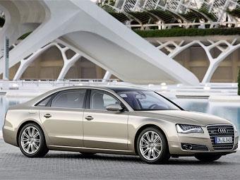В России начались продажи удлиненной версии седана Audi A8