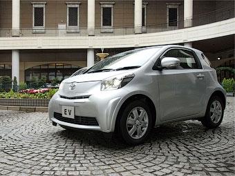 Электрический хэтчбек Toyota iQ привезут в Женеву