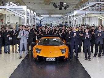 Компания Lamborghini завершила производство модели Murcielago