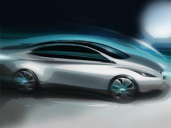 Infiniti начнет продажи электрокара в 2013 году