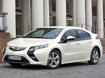 Opel привезет в Женеву серийную версию электрокара Ampera